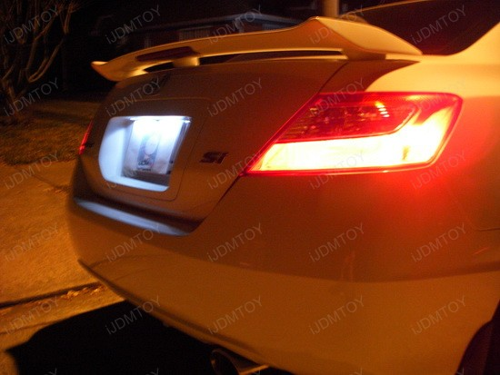 Honda - Civic - LED - license - plate - lights - 5